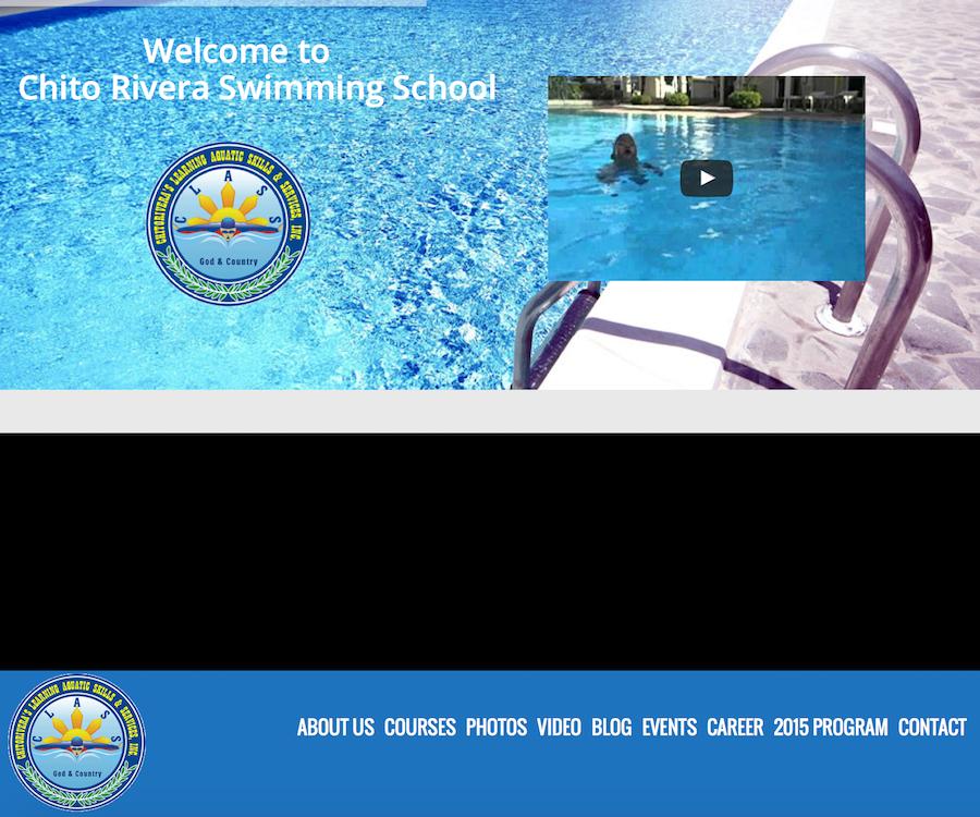 Chito Rivera Swimming School