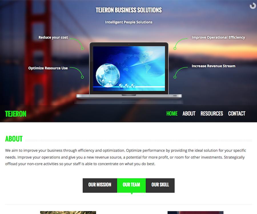 Tejeron Business Solutions